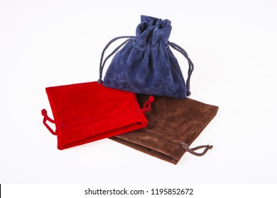 Colored bags for jewelry