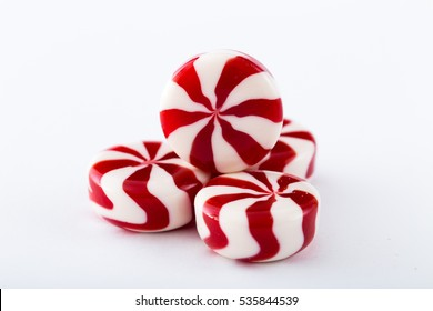 colored candy on white background. Candy background