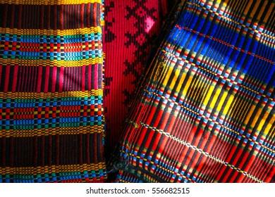 colored cotton texture