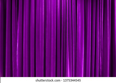 Colored Curtain Stage
