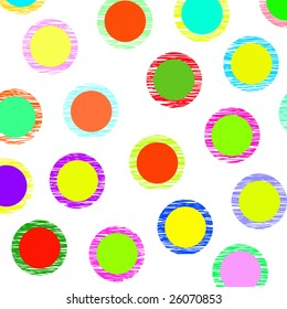 colored dotted background