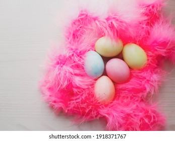 colored-eggs-forming-nest-pink-260nw-191