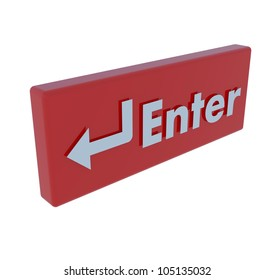 Colored of Enter button