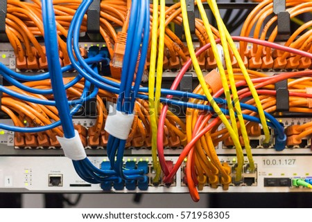 Tremendous Colored Ethernet Cables Network Switch Stock Photo Edit Now Wiring 101 Ariotwise Assnl