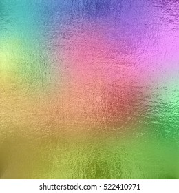 Colored foil texture background