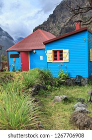 colored house serving as a refuge