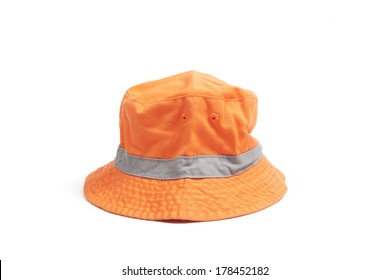 colored isolated cute baby hat.