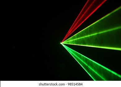 colored light laser