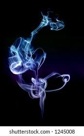Colored Light and Smoke