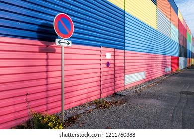 colored metal panel