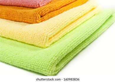 colored microfiber cloths for cleaning