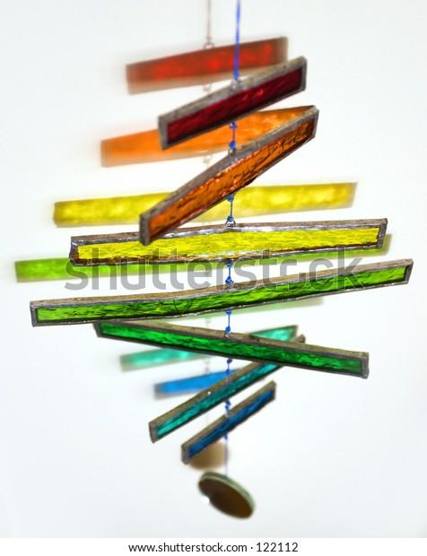 colored mobile