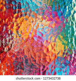 Colored Opal Glas