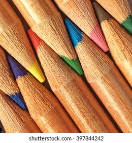 Colored pencil with great colors and detail