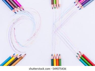 Colored Pencils OK - Photo