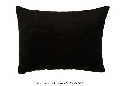 colored Pillow isolated on White Background