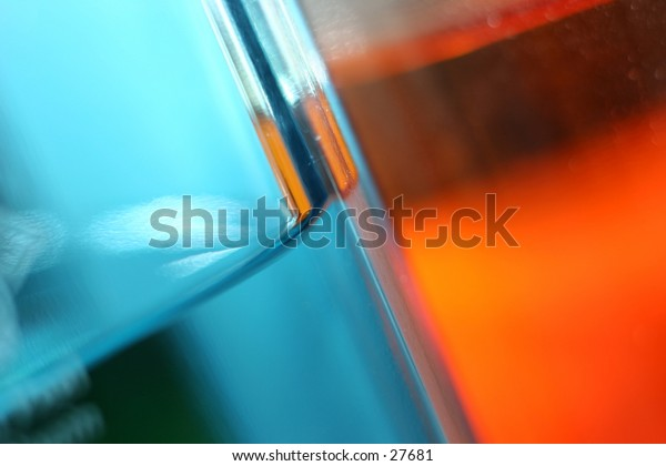 Colored reflections