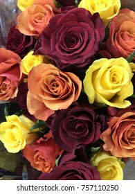 Colored Roses Bouquet