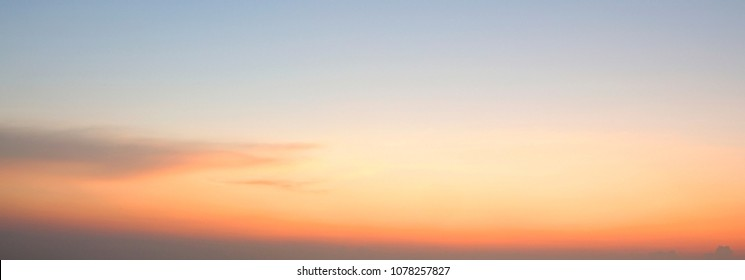 Colored sky background, colorful sky on sunset time background.
