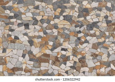 Colored stone wall pattern abstract background