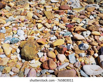 Colored stones background