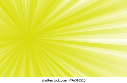 colored stripes on a light background, abstract illustration pattern. Rays laser yellow, white