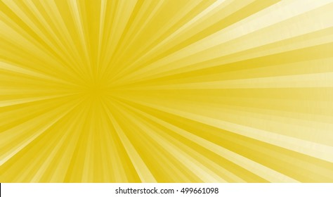 Colored stripes on a light background, abstract illustration pattern. Rays laser yellow, white.