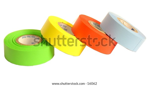 Colored tape for labeling