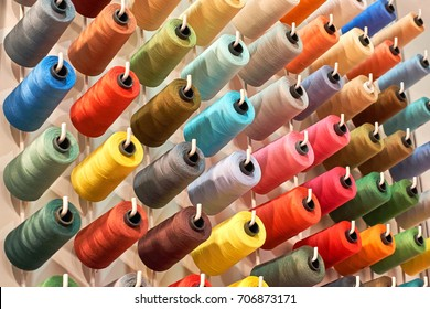 colored thread for the textile industry