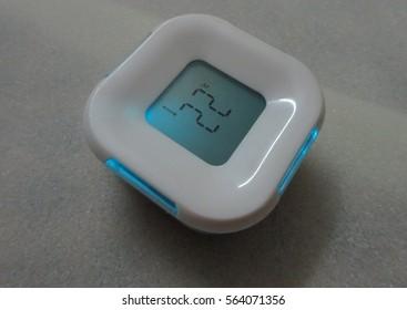 Colorful  3D led clock