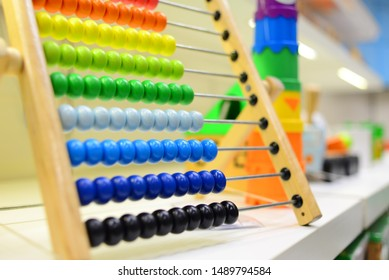 Colorful abacus toy for kids