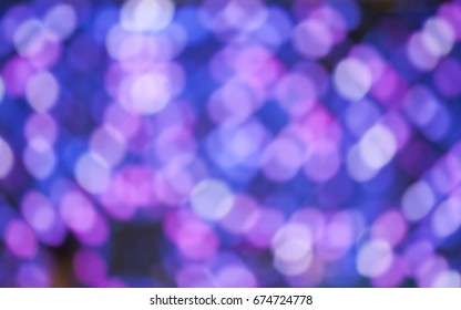 Colorful abstract bokeh