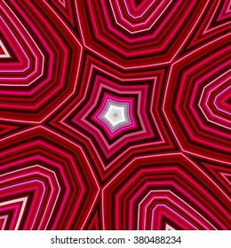 colorful abstract design in shades of red