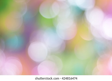 Colorful abstract gradient desktop wallpaper with natural bokeh. Vivid light and colorful abstract background.