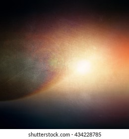 Colorful abstract image. Outer space. Background