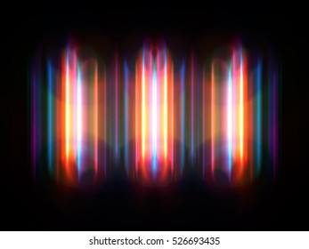 colorful abstract radiant neon series