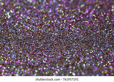Colorful  abstract sparkling blur circles. Shallow DOF. Real photograph.