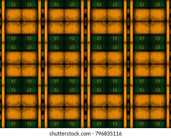 colorful abstract symmetrical background