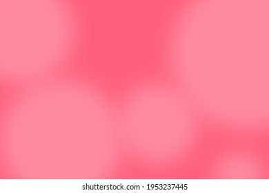 Colorful Abstract vibrant gradient background in Girly love themed : Pink, light pink and white.