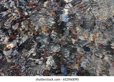 Colorful abstract water
