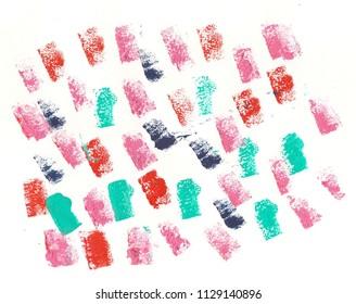 colorful acrylic background