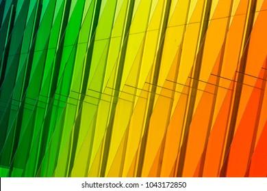 Colorful Acrylic Glass Pattern