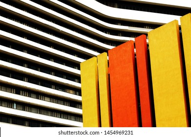 colorful architectural abstract minimalist photgraphy