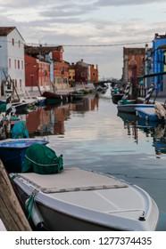 Colorful Architecture Burano Venice Italy
