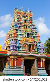 Colorful Architecture at Sri Siva Subramaniya Temple in Nadi