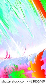 Colorful art abstract background