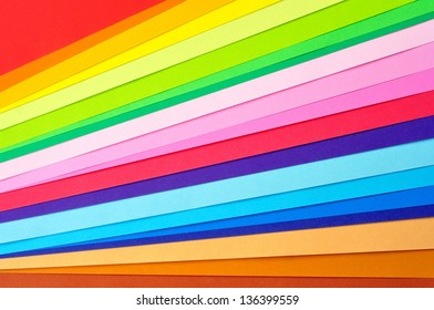 Colorful art paper background