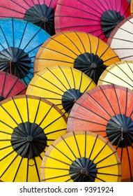 Colorful Asian Umbrellas