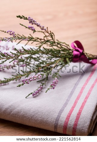 Colorful Autumn Table Decorations Heather Stock Photo Edit Now