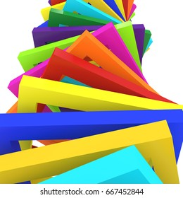 colorful background ,3d rendering
